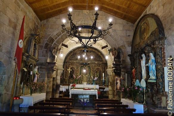Camino del Invierno, église de Taboada