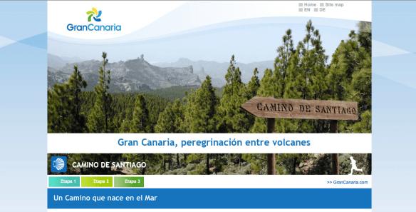 Camino de Santiago de Grande Canarie