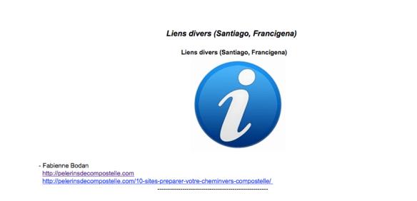 Pèlerins de Compostelle sur le site xacobeo.fr