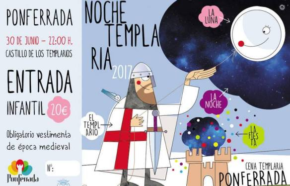 Noche Templaria Ponferrada 2017