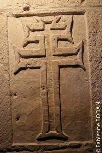 Croix des patriarches, monastère de San Juan de Ortega