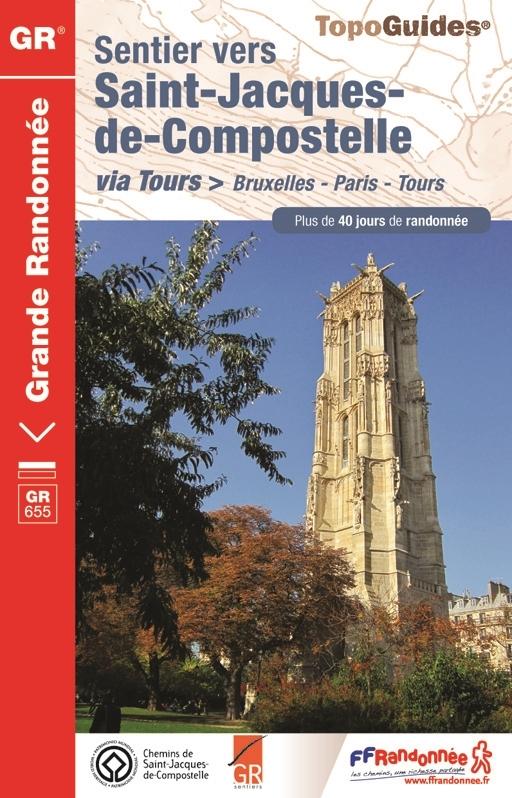 Bruxelles Paris Tours Topo guide FFR