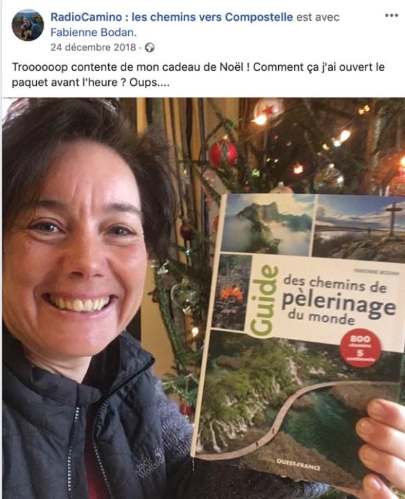 Radio Camino et le Guide des chemins de pèlerinage du monde de Fabienne Bodan