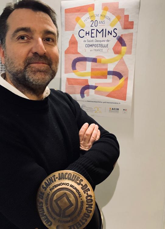 Sébastien Pénari, ACIR (Agence de coopération Interrégionale et Réseau des Chemins de Saint-Jacques-de-Compostelle)