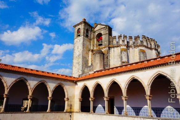 Convento do Cristo, Couvent du Christ, ancien siège des Templiers au Portugal, Tomar. © Fabienne Bodan