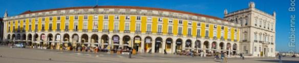 Praça do Comercio, Lisbonne. © Fabienne Bodan