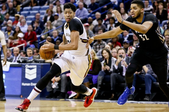 Image result for minnesota timberwolves vs new orleans pelicans
