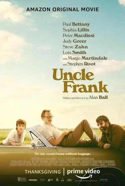 Uncle Frank - Tio Frank - PELICULA - EEUU - 2020