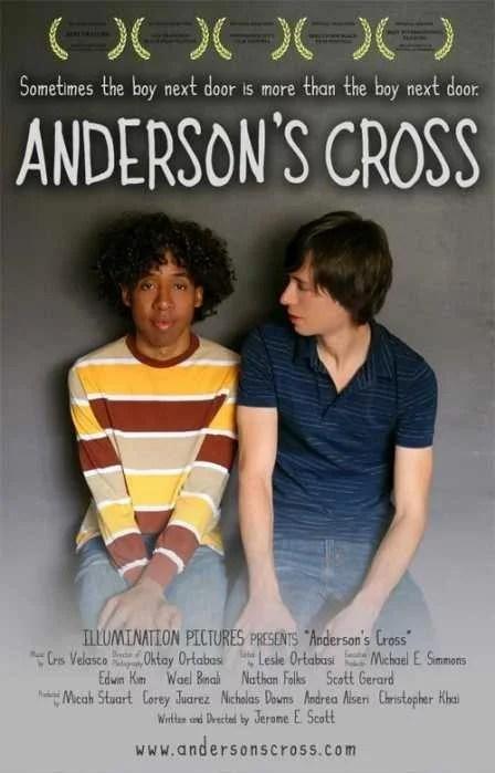 """CARTEL PELICULA """"Anderson's Cross"""" - Sub. Esp."""