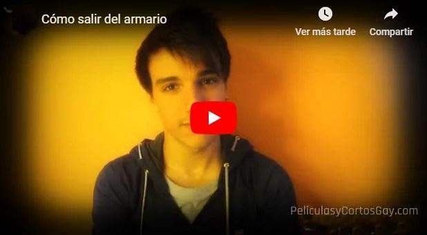CLIC PARA VER VIDEO ¿Como Salir del Armario? - Monologo - Video youtuber