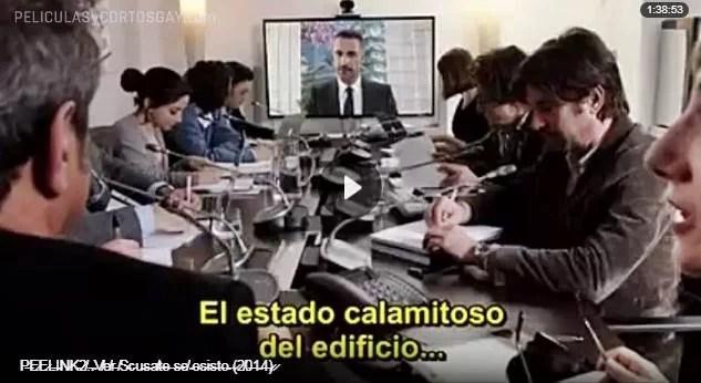 CLIC PARA VER VIDEO ¡Perdona Si Existo! - Scusate Se Esisto! - PELICULA - Italia - 2014