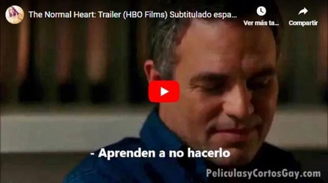 CLIC PARA VER VIDEO TRAILER The Normal Heart - Un Corazón Normal - Película - Audio Latino + Sub español - EEUU - 2014
