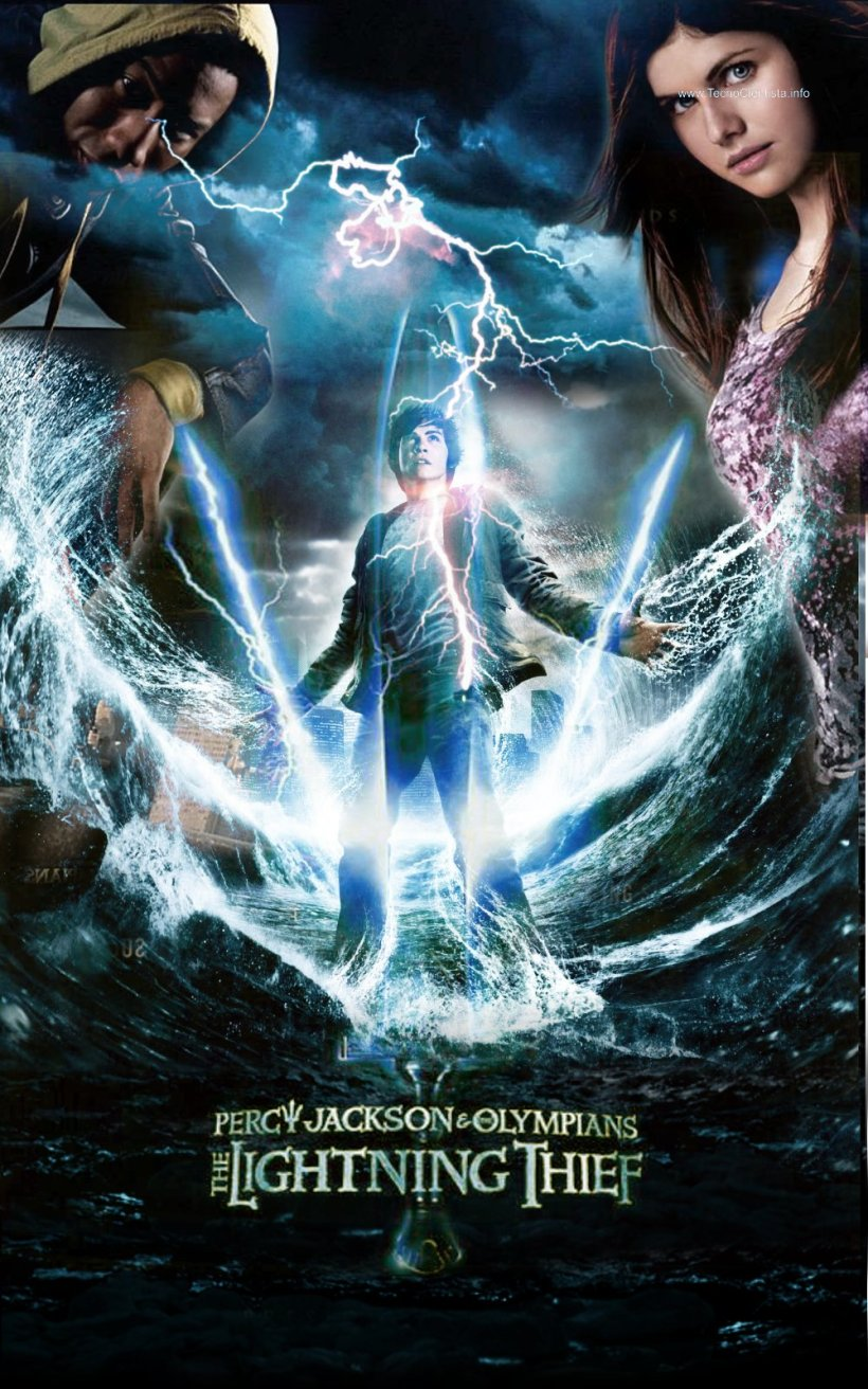 Percy Jackson y los Dioses del Olimpo: Ladrón del rayo - Percy Jackson and the Olympians: The Lightning Thief - PELICULA ONLINE
