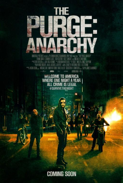 12 horas para sobrevivir - The Purge: Anarchy (The Purge 2)