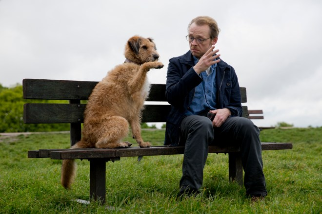 simon pegg in _ABSOLUTELY ANYTHING