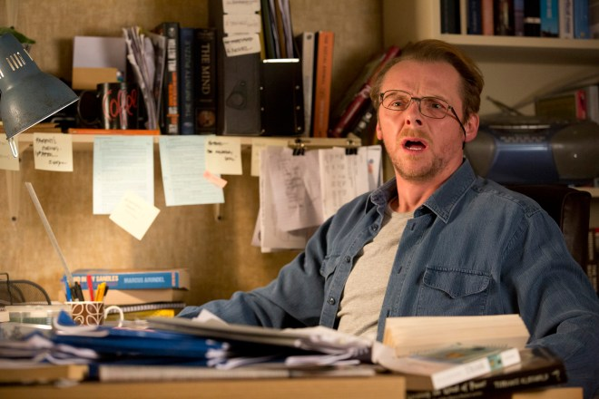 simon pegg -  absolutely anything