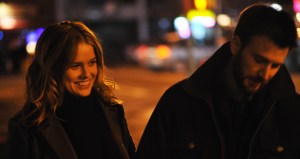 alice eve and chris evans - BEFORE WE GO -