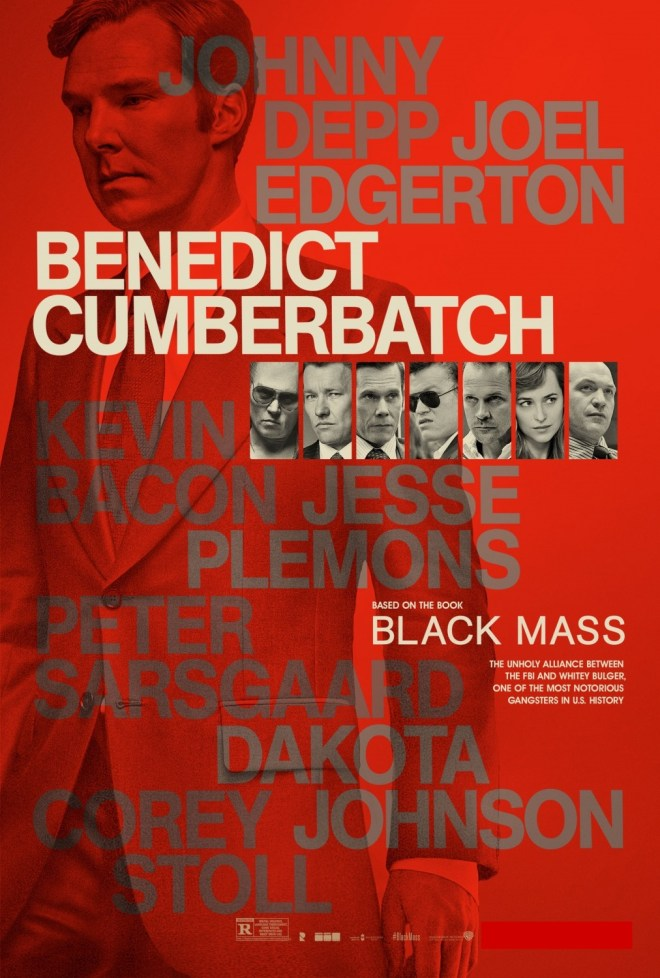 Benedict Cumberbatch Black Mass Poster