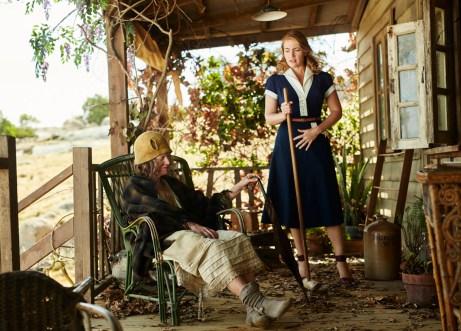 judy davis and kate winslet THE DRESSMAKER