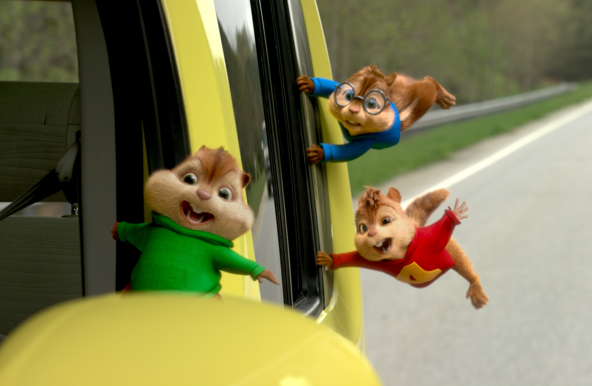 scene from ALVIN AND THE CHIPMUNKS4 - THE ROAD CHIP