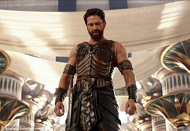 Gerard Butler Gods of Egypt
