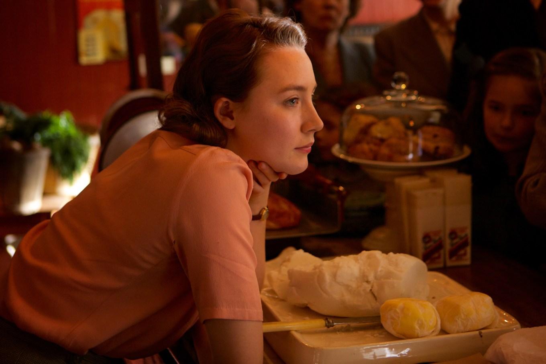 "Saoirse Ronan as ""Eilis"" in BROOKLYN. Photo by Kerry Brown. © 2"