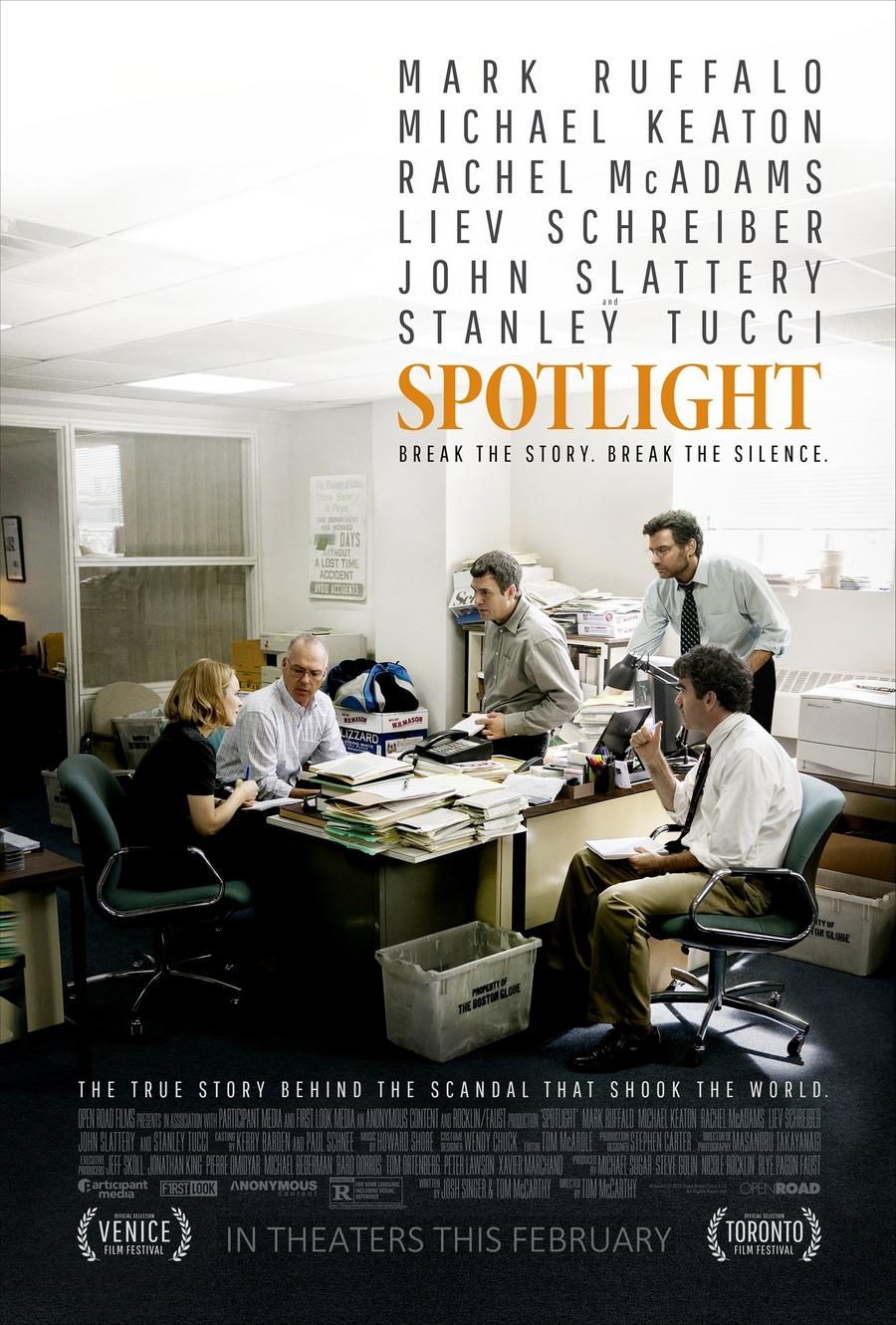 spotlight movie poster2C1