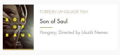 Foreign Lang Film Son of Saul