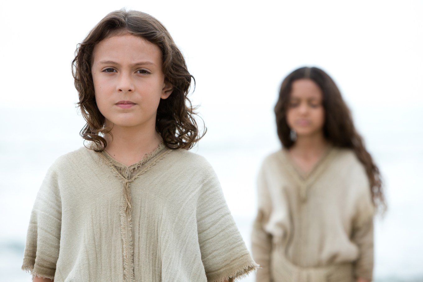 adam greaves-neal as Jesus in THE YOUNG MESSIAH