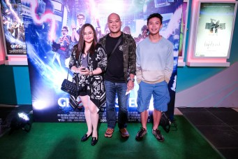 Angelica Dela Cruz and family