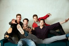 zac efron and adam devine with stangle brothers - MIKE AND DAVE NEED WEDDING DATES