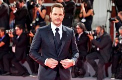 VENICE, ITALY - SEPTEMBER 10, 2016 Actor Chris Pratt attendsMGM and Columbia Pictures'The Magnificent Seven' premiere during the 73rd Venice Film Festival at Sala Grande