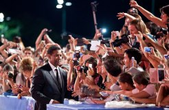 VENICE, ITALY - SEPTEMBER 10, 2016 Actor Denzel Washington attendsMGM and Columbia Pictures'The Magnificent Seven' premiere during the 73rd Venice Film Festival at Sala Grande
