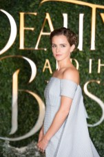 """London UK : Emma Watson attends the UK launch event and special screening of Disney's """"Beauty and the Beast"""". February, 23rd 2017. (Credit: StillMoving.net for Disney)"""