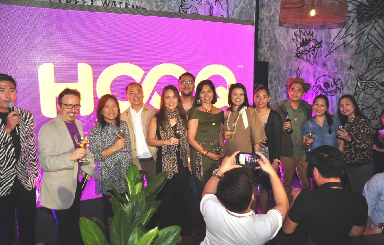 Hooq Team with Host Tim Yap