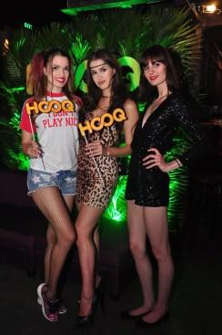 Models Erika, Maria, and Ksenia