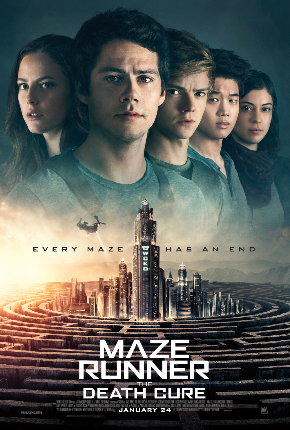 MAZE RUNNER- THE DEATH CURE CAMP C POSTER