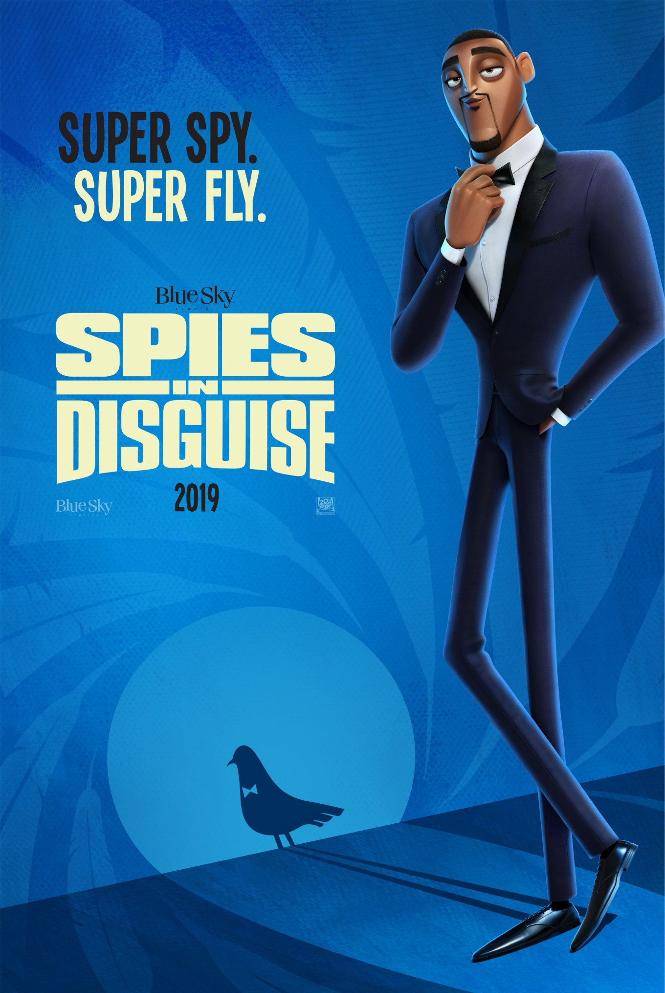 SPIES IN DISGUISE poster teaser