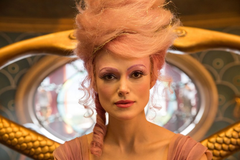 Keira Knightley is Sugar Plum in Disney's THE NUTCRACKER AND THE FOUR REALMS.
