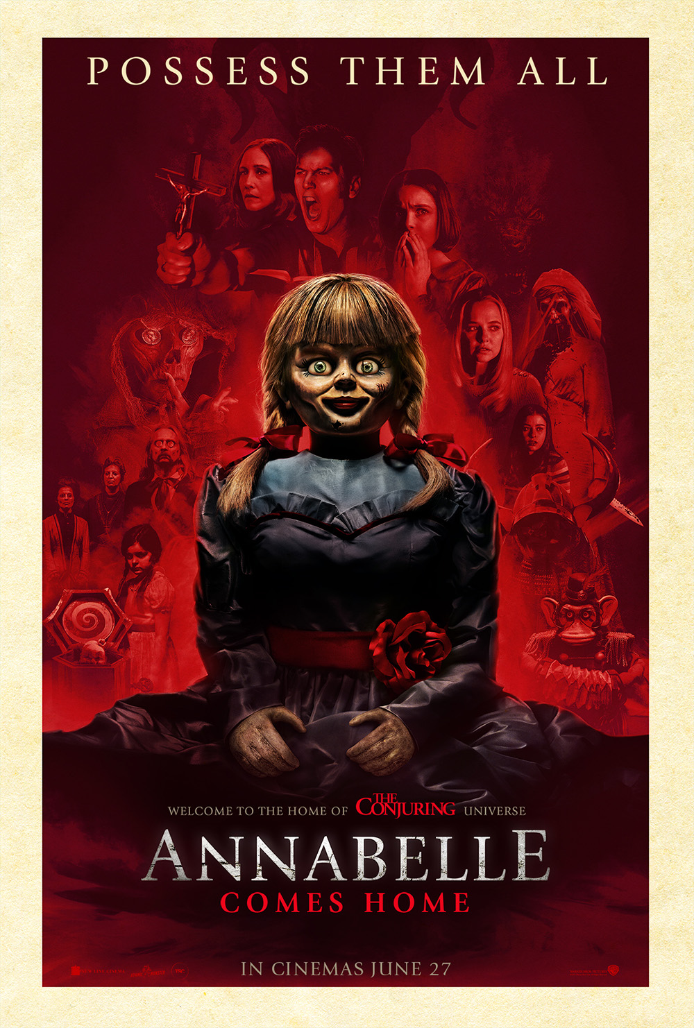 Annabelle Comes Home Poster 01