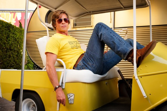 """Brad Pitt star in Columbia Pictures """"Once Upon a Time in Hollywood"""""""
