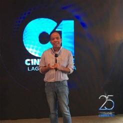 Cinema One channel head Ronald Arguelles