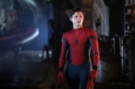 Tom Holland is Spider-Man in Columbia Pictures' SPIDER-MAN: ™ FAR FROM HOME.
