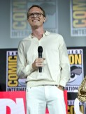 SAN DIEGO, CALIFORNIA - JULY 20: Paul Bettany of Marvel Studios' 'WandaVision' at the San Diego Comic-Con International 2019 Marvel Studios Panel in Hall H on July 20, 2019 in San Diego, California. (Photo by Alberto E. Rodriguez/Getty Images for Disney)