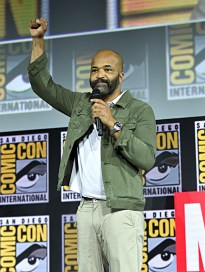 SAN DIEGO, CALIFORNIA - JULY 20: Jeffrey Wright of Marvel Studios' 'What If...?' at the San Diego Comic-Con International 2019 Marvel Studios Panel in Hall H on July 20, 2019 in San Diego, California. (Photo by Alberto E. Rodriguez/Getty Images for Disney)