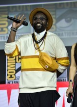 SAN DIEGO, CALIFORNIA - JULY 20: Brian Tyree Henry of Marvel Studios' 'The Eternals' at the San Diego Comic-Con International 2019 Marvel Studios Panel in Hall H on July 20, 2019 in San Diego, California. (Photo by Alberto E. Rodriguez/Getty Images for Disney)