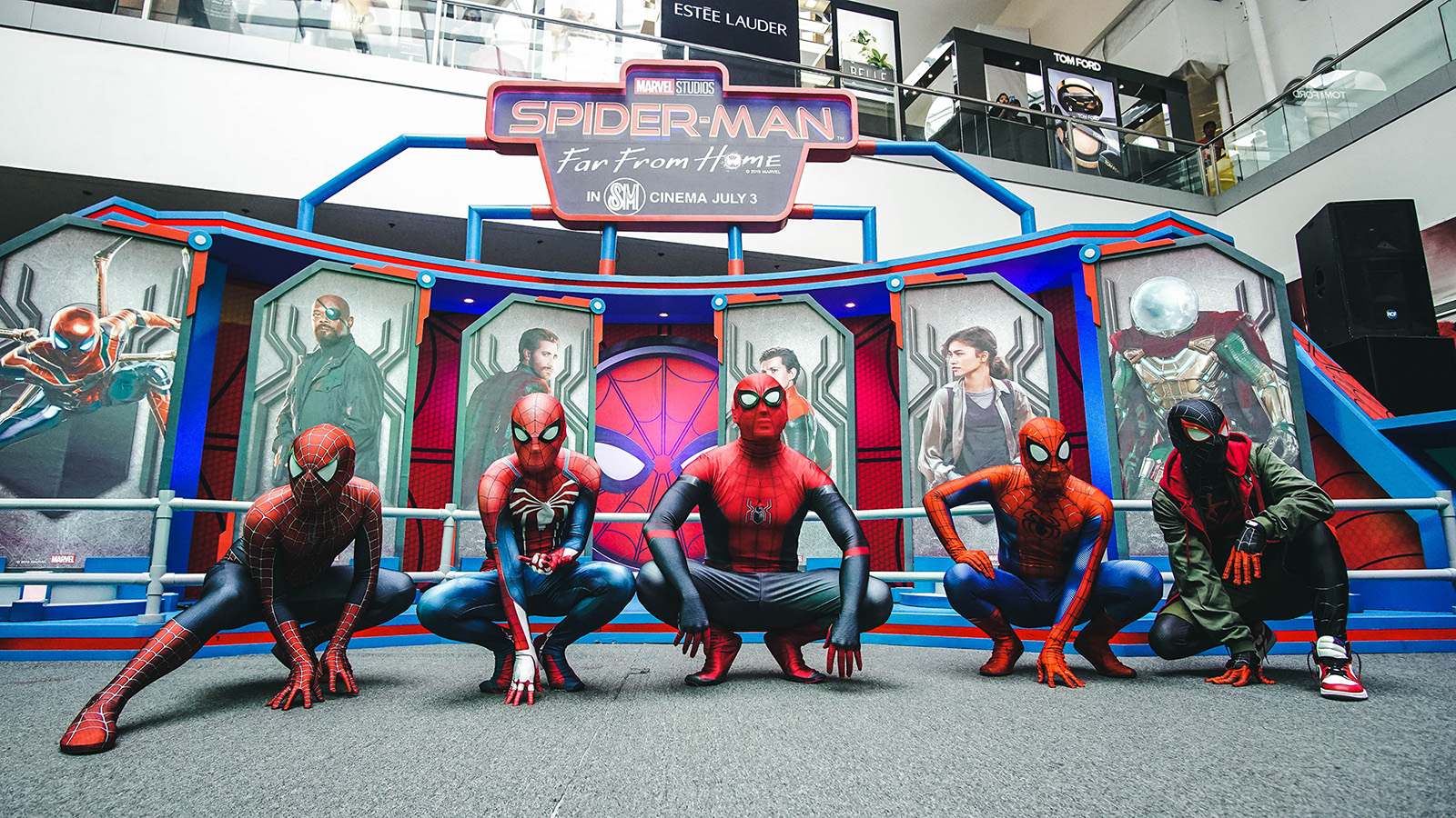 Spider-Man Experience Mall of Asia (1)