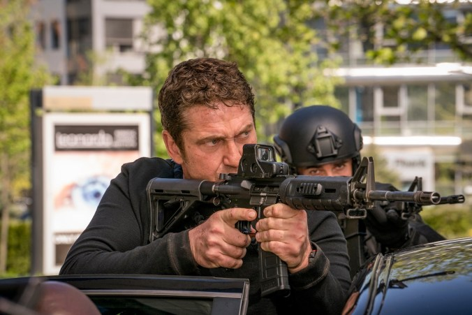 Gerard Butler stars as 'Mike Banning' in ANGEL HAS FALLEN. Photo Credit: Simon Varsano.