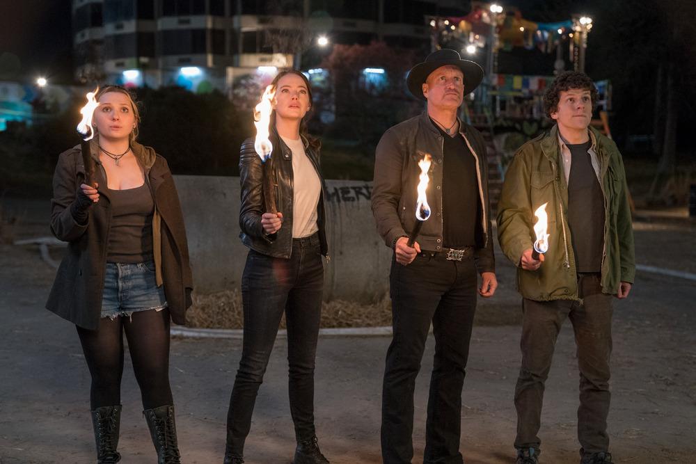 Zombieland Double Tap Woody Harrelson (Finalized);Jesse Eisenberg (Finalized);Emma Stone (Finalized);Abigail Breslin (Finalized)