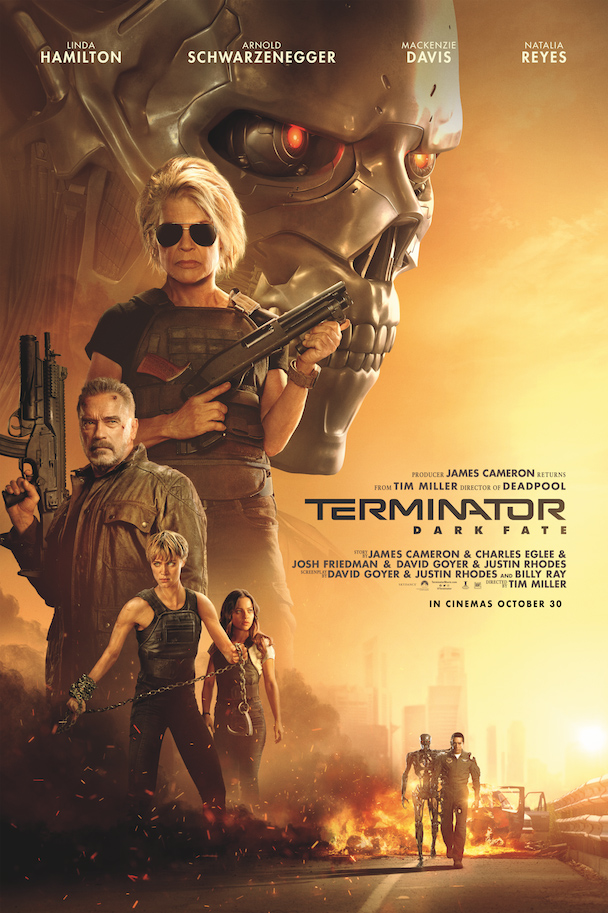 Terminator Dark Fate Pay-off Poster